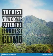 inspirational motivating quotes on nature background stock image