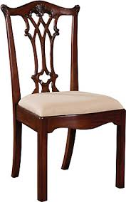 carved regency chippendale dining chair