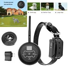 Wireless Electric Dog Pet Fence Containment System Transmitter Training Collar Waterproof 1 Dog System Walmart Com Walmart Com