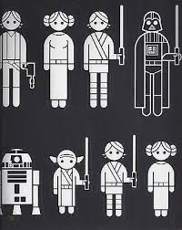 New Star Wars Family Car Window Decals Stickers Figures Stormtroopers Bobafett 1854600078