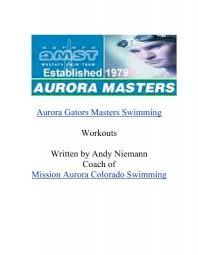 aurora masters swim team