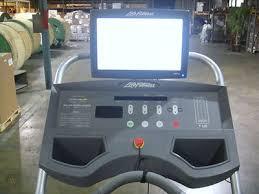 life fitness 95ti treadmill with 17 tv