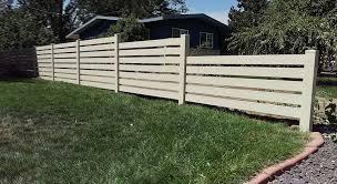 Horizontal Slat Pvc Fence From Robellfence Com Http Www Robellfence Com Horizontal Vinyl 2 Zoom C10k4 Dataitem Ij81yvlh Fence Options Backyard Pvc Fence