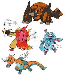 Some Mega Evolution concepts I made a while back, I figure Reddit would get  more out of them than me. : pokemon