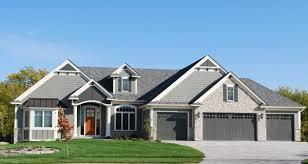 spacious 4 car garage house plans that