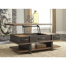 union rustic garrison coffee table with
