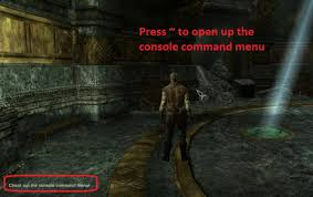 12 most useful console commands in skyrim