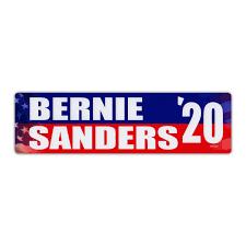 Bumper Sticker Bernie Sanders 2020 Democrat President Political Campaign Decal 10 X 3 Walmart Com Walmart Com