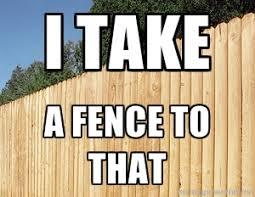 Fence Dickjutsu