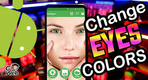 Change the color of your eyes with this incredible application for Android