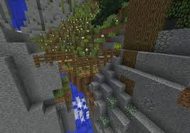 Rope Bridge 1 8 Pc Idea Minecraft Amino