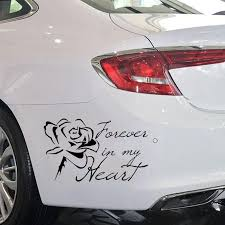 2020 Forever In My Heart Vinyl Car Truck Suv Window Decal Bumper Sticker From Xymy787 2 92 Dhgate Com