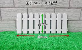 10pcs Lot White Fence Round Top Plastic Fence Garden Bulletheaded Fencing Small Fence For Christmas Tree In Flower Pots Planters From Home Garden On Aliexpress Com Alibaba Group