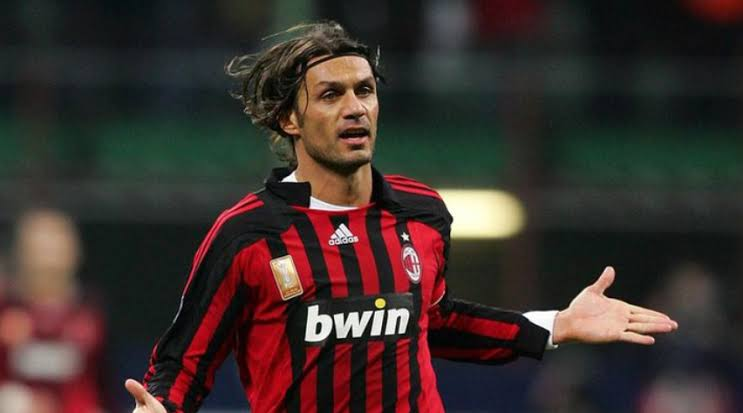 "Image result for Paolo Maldini AC Milan"""
