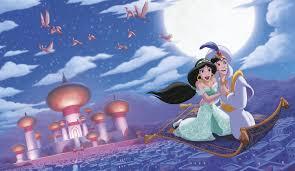 Roommates Aladdin A Whole New World Removable Wall Mural 10 5 Feet X 6 Feet Amazon Com
