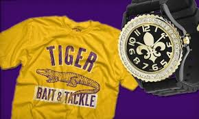 lsu and saints gear at tyger gifts