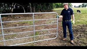Farmer Know How Hanging A Gate Youtube