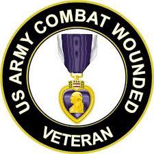 Magnet Us Army Veteran Purple Heart Medal Decal Magnetic Sticker 3 8 6 Pack Walmart Com Walmart Com