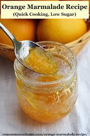 orange marmalade recipe quick cooking