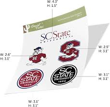 Amazon Com South Carolina State University Scsu Bulldogs Ncaa Sticker Vinyl Decal Laptop Water Bottle Car Scrapbook Type 2 Sheet Arts Crafts Sewing