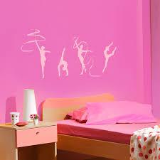 Rhythmic Gymnastics Set Of 4 Wall Decals Stickers Graphics