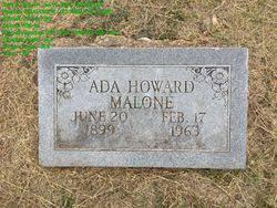 Ada Howard Malone (1899-1963) - Find A Grave Memorial