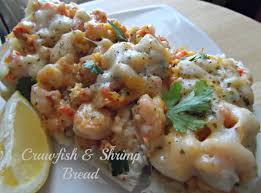 Crawfish and Shrimp Bread - Coop Can Cook