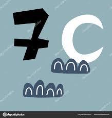 Vector Illustration Advent Calendar Page Scandibavian Style Kids Room Stock Vector C Boyusya 204332444