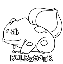 Free Bulbasaur Coloring Page Download Free Clip Art Free Clip