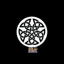 Pentagram Celtic Knot Wicca Druid Pagan Vinyl Decal Car Wall Sticker Choose Size Home Garden Children S Bedroom Boy Decor Decals Stickers Vinyl Art