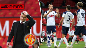 Manchester United vs Tottenham highlights and reaction after Martial sent  off in 6-1 loss - Manchester Evening News