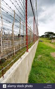 Barbwire Fence In The Iwahig Prison And Penal Farm In Puerto Stock Photo Alamy