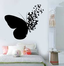 Vinyl Wall Decal Butterfly Home Room Decoration Mural Stickers Unique Gift 395ig Wall Stickers Bedroom Diy Wall Decor Diy Room Decor
