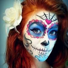 easy sugar skull makeup makeup