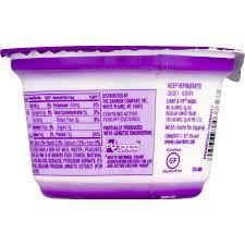 fit greek peach nonfat yogurt 5 3 oz