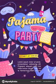 Poster De Fiesta Con Carnaval De Dibujos Animados Ilustracion