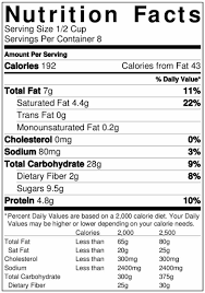 vegan nutrition facts cereal 2yamaha