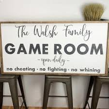 Game Room Decor Etsy