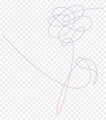 bts love yourself logo hd png
