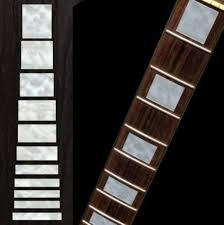 Mop Gibson Les Paul Style Block Guitar Inlays Stickers Hmcustom Online Shop