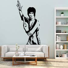 Amazon Com Giaou Wall Decal Sticker Art Mural Home Decor Quote Famous Bruce Lee House Decorations Decal For Kids Rooms Decoration Home Kitchen