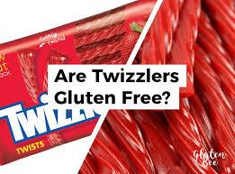 are twizzlers gluten free glutenbee