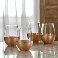 jay imports linen copper set of 4