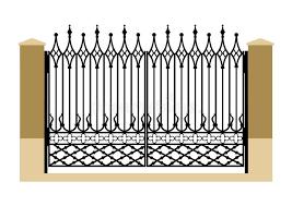 Fence Gothic Stock Illustrations 403 Fence Gothic Stock Illustrations Vectors Clipart Dreamstime