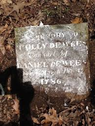 """Mary """"Polly"""" Carter Dewees (1786-1861) - Find A Grave Memorial"""