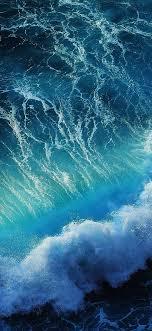 wave wallpaper iphone x