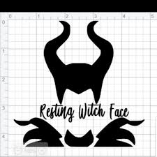 Other Maleficent Decal Poshmark