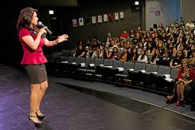 Telemundo host Dunia Elvir encourages high school girls to rise from  adversity at Rio Hondo College event – Whittier Daily News
