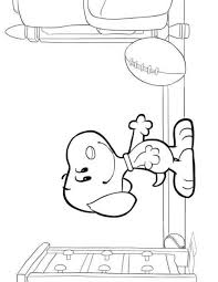 Kleurplaten Kleurplaat Snoopy