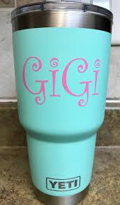Gigi Yeti Decal Grandmother Vinyl Decal Vinyl Decals Cup Etsy